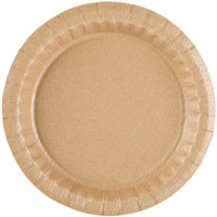 Solut 27020 7 1/2 inch Coated Kraft Paper Plate - 400 / Case