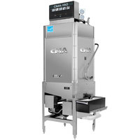 CMA Dishmachines CMA-180T-S Single Rack High Temperature Straight Tall Dishwasher - 208/240V, 1 Phase