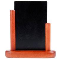 American Metalcraft ELEMSM 4 inch x 6 inch Mahogany Table Top Board