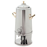 Carlisle 609635 Contemporary 5 Gallon Stainless Steel Chafer Beverage Urn