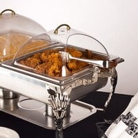 Half-Size Polycarbonate Dome Display Cover with Side Cut – 13 1/2 inch x 11 inch x 4 1/2 inch