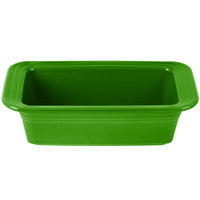 Homer Laughlin 813324 Fiesta Shamrock 5 3/4 inch x 10 3/4 inch x 3 inch Loaf Pan - 3/Case