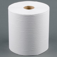 Lavex Janitorial 800' White Hardwound Roll Paper Towel - 6 / Case