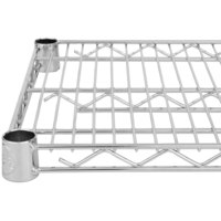 Regency 24 inch x 72 inch NSF Chrome Wire Shelf
