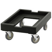 Cambro CD1826PDB110 Black Pizza Dough Box Camdolly