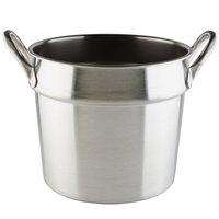 Vollrath 77133 20 Qt. Stainless Steel Double Boiler Inset - Flat Bottom