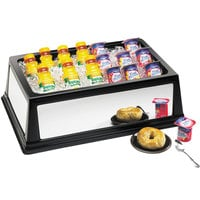 Cal-Mil 463-12-24 Mirror Finish ABS Full Size Insulated Ice Housing - 20 inch x 12 inch x 6 inch