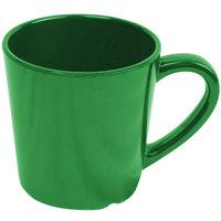 Smooth Melamine 7 oz. Green Mug - 3 1/8 inch 12 / Pack