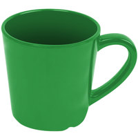Smooth Melamine 7 oz. Green Mug - 12/Case