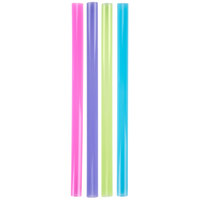 "Dart Solo D85AN 8 1/2"" Colossal Neon Straw - 500/Pack"