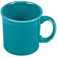 Homer Laughlin 570107 Fiesta Turquoise 12 oz. Java Mug - 12 / Case