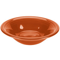 Homer Laughlin 472334 Fiesta Paprika 11 oz. Stacking Cereal Bowl - 12/Case