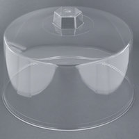 Tablecraft 421 12 inch Clear Plastic Cake Cover