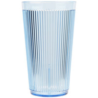 Carlisle 401654 Blue Crystalon Stack-All SAN Tumbler 16 oz. - 12/Case