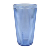 Carlisle 401654 Blue Crystalon SAN Tumbler 16 oz. - 12 / Pack
