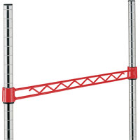 Metro H118-DF Flame Red Hanger Rail 18 inch