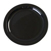Carlisle KL20103 Kingline 7 1/4 inch Black Sandwich Plate - 48 / Case