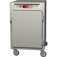 Metro C565-NFS-UPFS C5 6 Series Half-Height Reach-In Pass-Through Heated Holding Cabinet - Solid Doors