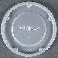 Dinex DX11968714 Translucent Disposable Tumbler Lid - 1000/Case