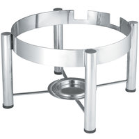 Vollrath 46114 Stainless Steel Chafer Stand for 6 Qt. Round Intrigue Induction Chafers
