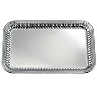 Vollrath 82167 Esquire 21 inch x 14 inch Rectangular Fluted Stainless Steel Tray