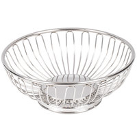 American Metalcraft BSS7 6 5/8 inch Round Stainless Steel Basket