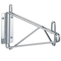 Metro 1WD21S Super Erecta Stainless Steel Single Direct Wall Mount Bracket for 21 inch Shelf