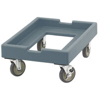 Cambro CD1826PDB401 Slate Blue Pizza Dough Box Camdolly