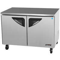 Turbo Air TUF-48SD Super Deluxe 48 inch Undercounter Freezer - 12 Cu. Ft.
