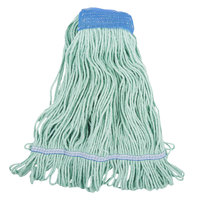 Continental A02803 J.W. Atomic Loop™ 32 oz. Large Green Blend Loop End Mop Head with 5 inch Band