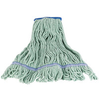 Continental A02803 32 oz. Large Green Blend Loop End Mop Head with 5 inch Band