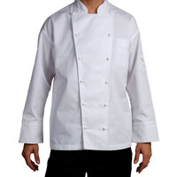 Chef Revival J023-2X Chef-Tex Size 52 (2X) Customizable Poly-Cotton Classic Chef Jacket