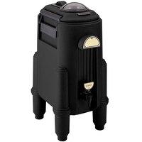 Cambro CSR5110 Camserver 5 Gallon Black Insulated Beverage Dispenser