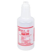 32 oz. Labeled Bottle for Noble Chemical Sani-512 Food Surface Sanitizer (IMP 5032WG)