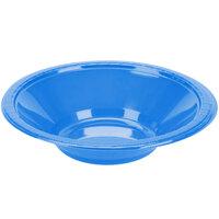 Creative Converting 28145051 12 oz. True Blue Plastic Bowl - 240/Case