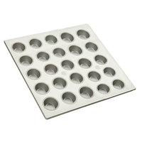25 Cup Aluminized Steel Cupcake / Muffin Pan 3.8 oz.