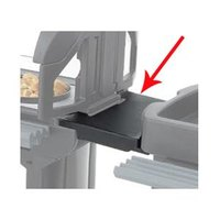 Cambro VCS32CNT110 Black Connector for Connecting Versa Carts to Versa Food Bars / Work Tables