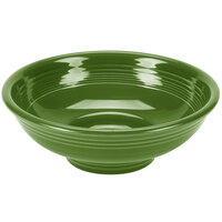 Homer Laughlin 765324 Fiesta Shamrock 2 Qt. Pedestal Serving Bowl - 4/Case