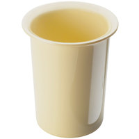 Cal-Mil 1017-61 Solid Butter Yellow Melamine Cylinder