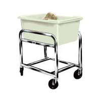 Winholt BLC-1 Aluminum Bulk Mover with 3 Bushel White Tub