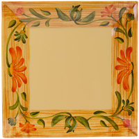 GET ML-90-VN 12 inch x 12 inch Square Venetian Plate