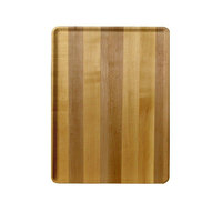 Cambro 1418D303 14 inch x 18 inch Light Butcher Block Wood-Look Dietary Tray - 12/Case