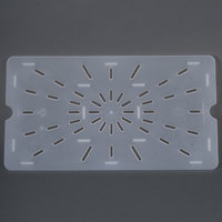 Cambro 10PPD Full Size Translucent Polypropylene Drain Tray