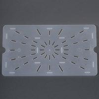 Cambro 10PPD Full Size Translucent Polypropylene Drain Tray