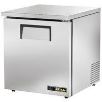True TUC-27F-LP-HC 27 inch Low Profile Undercounter Freezer