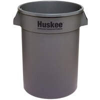 Continental 1001GY 10 Gallon Gray Huskee Trash Can