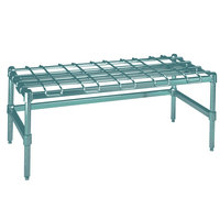 Metro HDP56K3 24 inch x 60 inch x 16 1/4 inch Super Heavy Duty Metroseal 3 Dunnage Rack with Wire Mat - 2400 lb. Capacity