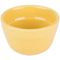 Tuxton CSB-0752 Concentrix 7.5 oz. Saffron China Bouillon Cup - 24/Case