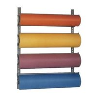 Bulman T293-15 15 inch Horizontal Four Paper Roll Wall Rack