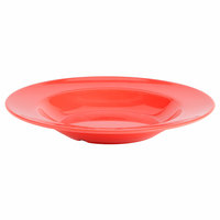 Orange 16 oz. Melamine Pasta Bowl - 12/Case